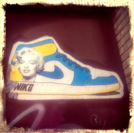 Marilyn Monroe and Nike