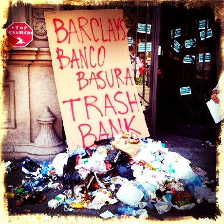 Trashy banks