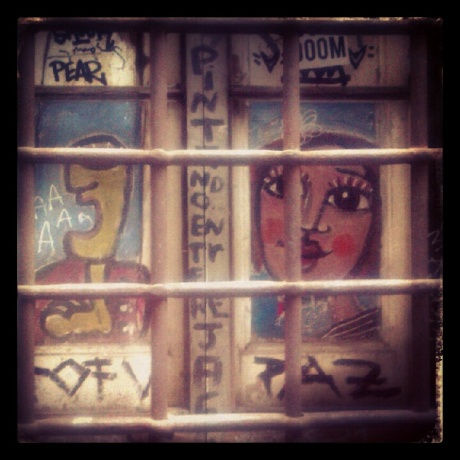 Behind bars near Neri