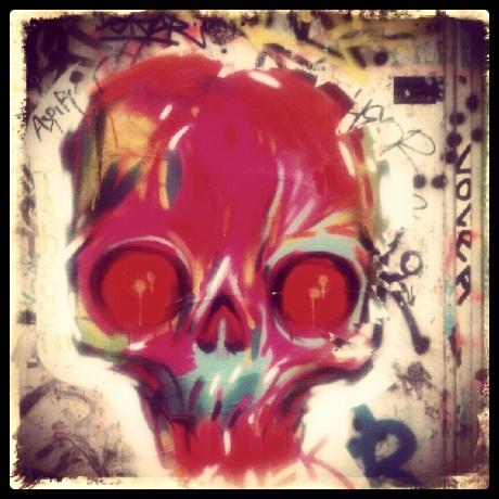 The insistent skull
