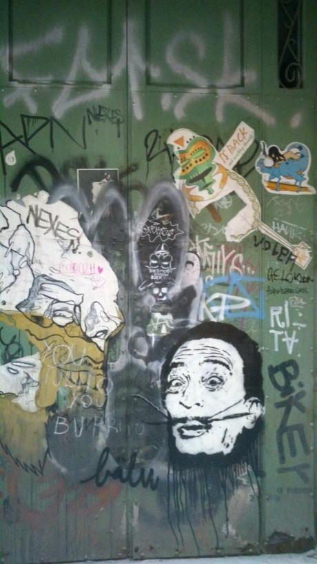 Dalí's door