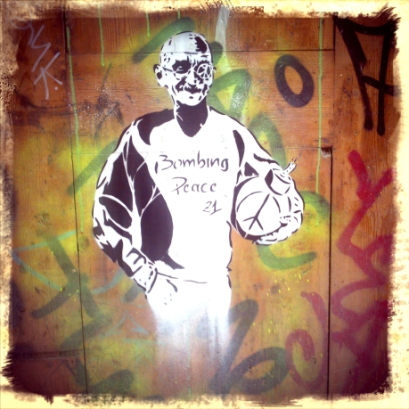Ghandi bombing....peace!