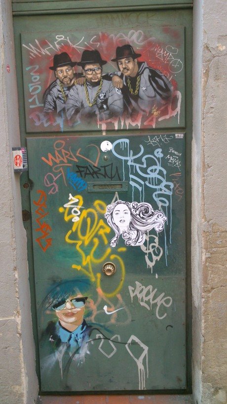 A doorway near Sol...
